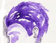 Not because I like purple I'm effeminate