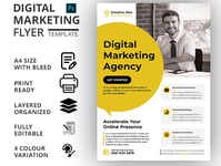 DIGITAL MARKETING AGENCY FLYER