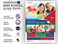 ADMISSION KIDS SCHOOL FLYER