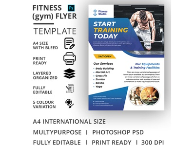 Fitness (Gym) Flyer Template