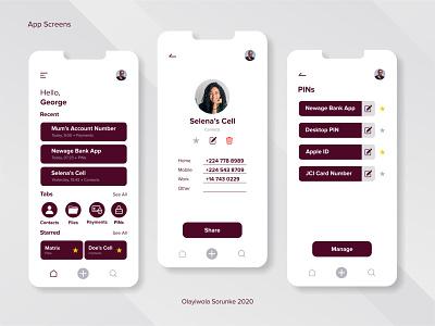 Mobile UI Design - Numbas (Pt. 3) ui kit mobile mobile ui web design uidesign uiux creative design creative mobile app design branding graphic design product design ui ui design logo design
