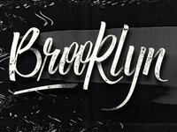 Brooklyn (we go hard) - Jayz feet Santagold / Lettering