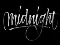 Midnight Pentel Brush