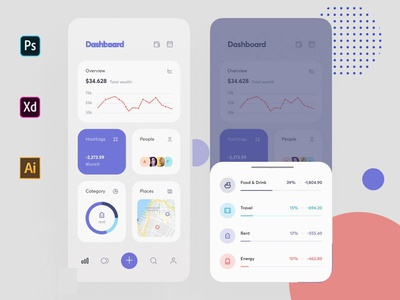 Dashboard App UI Design for Client