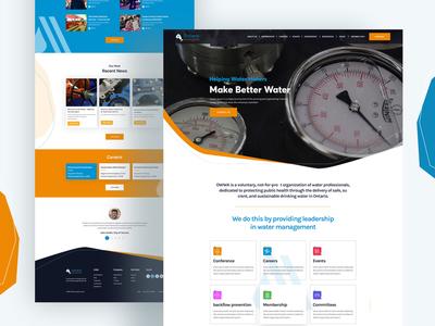 Ontario website UI Design