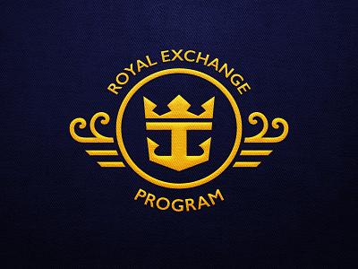 Royal Exchange Program Logo abroad students sail logo ship cruise caribbean royal