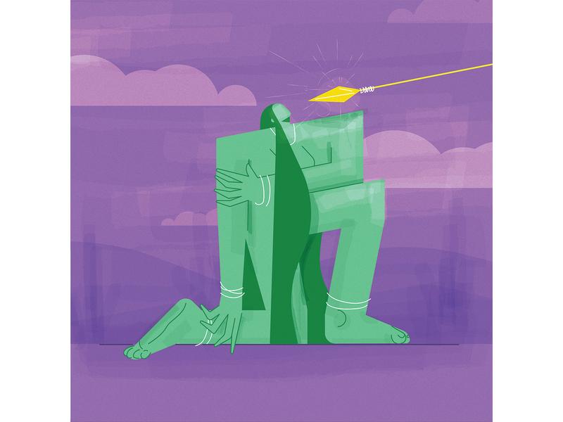 Head's still up digital illustration digitalart color concept characterdesign vector illustration design