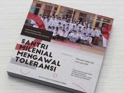 Cover Book Millenial Santri