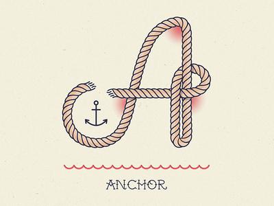 Ahoy! Letter A