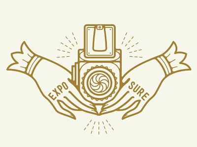 Hasselblad   exposure vintage logotype logo handmade handcrafted hand hasselblad film classic branding analog