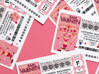Lottery Ticket ❤️️ Valentines