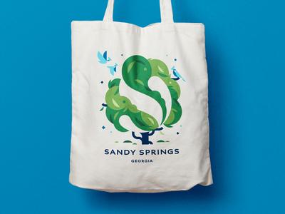 Sandy Springs · Visual identity illustrations