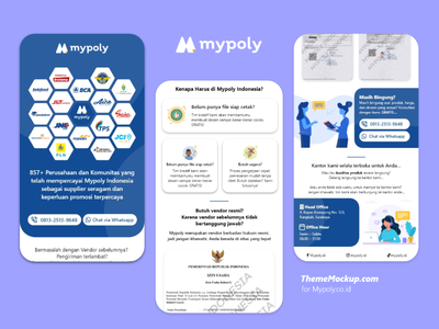 Mypoly.co.id Mobile Web UI freebie freebies freebie xd website design web design ui  ux ui design uidesign uiux xd xd ui kit xd design adobe xd flat ui ux web website design