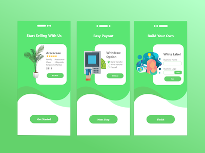 Splash Screen For Florist App app design xd xd design ui design ui design adobe xd uidesign