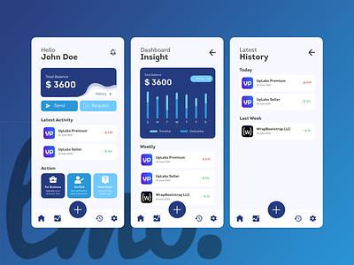 Paypal App Redesign Concept uiux ui xd xd ui kit app design design adobe xd xd design uidesign ui design