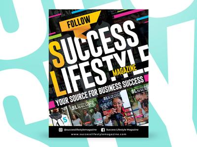 Success Lifestyle Magazine - Promotion Flyer