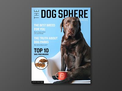 Dog Sphere Magazine Cover design