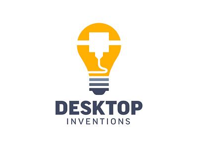 Desktop Inventions Logo/Illustration illustration design logo design