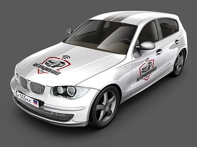 Logo for Telegram channel automobile branding vector logotype logodesign logo creation logo adobe photoshop adobe illustrator