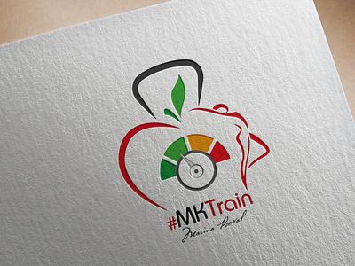 MKTrain design branding vector logotype logodesign logo creation logo adobe photoshop adobe illustrator