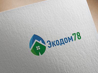 ecodom78 white carton 1 design branding vector logotype logodesign logo logo creation adobe photoshop adobe illustrator