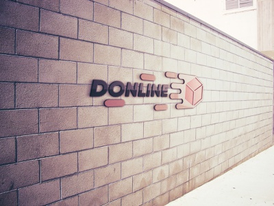 Donline logo branding vector logotype logodesign logo creation logo adobe photoshop adobe illustrator