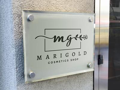 Logo for MARIGOLD logodesigner logos logoinspirations design branding logotype logodesign logo creation logo adobe illustrator