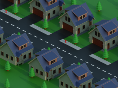 Low Poly American Dream