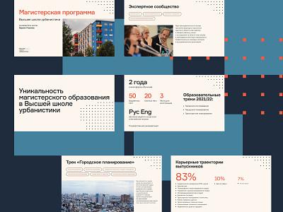 HSU master magazine vector grid digital presentation urban design branding print editorial typography