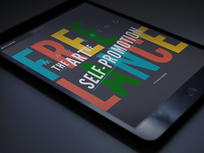 RETOUCHED magazine lettering ui editorial magazine title typography digital ipad retouch retouched