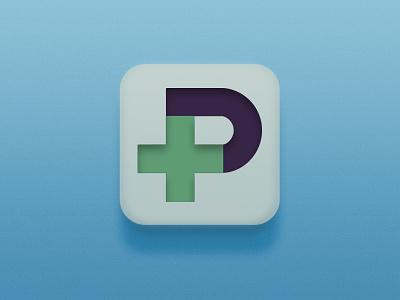 Pricer icon branding vector app mobile identity typography brand logo icon
