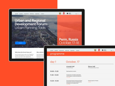 Urban forum typography urban editorial web ui ux design
