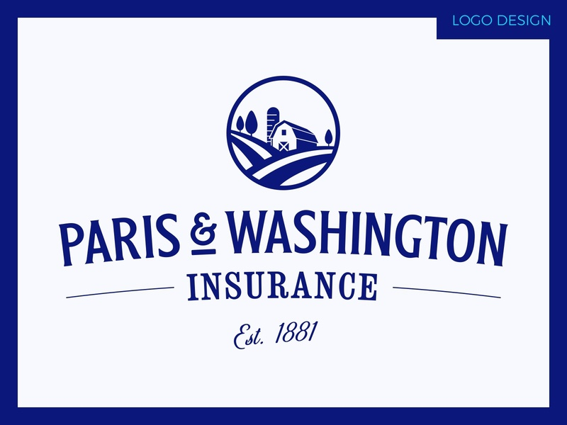 Paris & Washington Insurance webdesign website webflow rentalinsurance rental mobilehomeinsurance mobile home homeinsuarance home farminsurance farm insurance graphicdesign logodesigns branddesign logo brandidentity branding logodesign