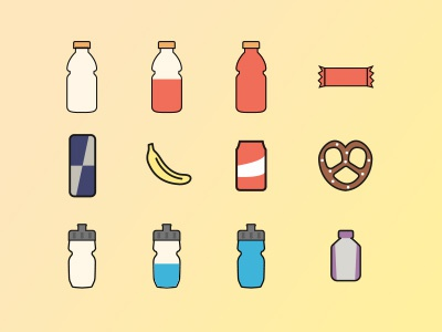 Sports Nutrition icons nutrition sports illustrator vector sketch fitness icons