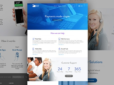 Mobile Card Reader Corporate site