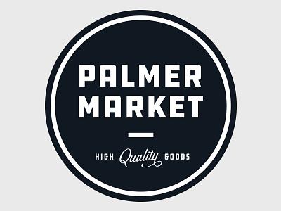 Palmer Market ohio branding antiques farmhouse logo design logo illustrator quality market