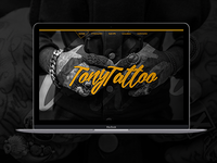 Tony Tatoo Website