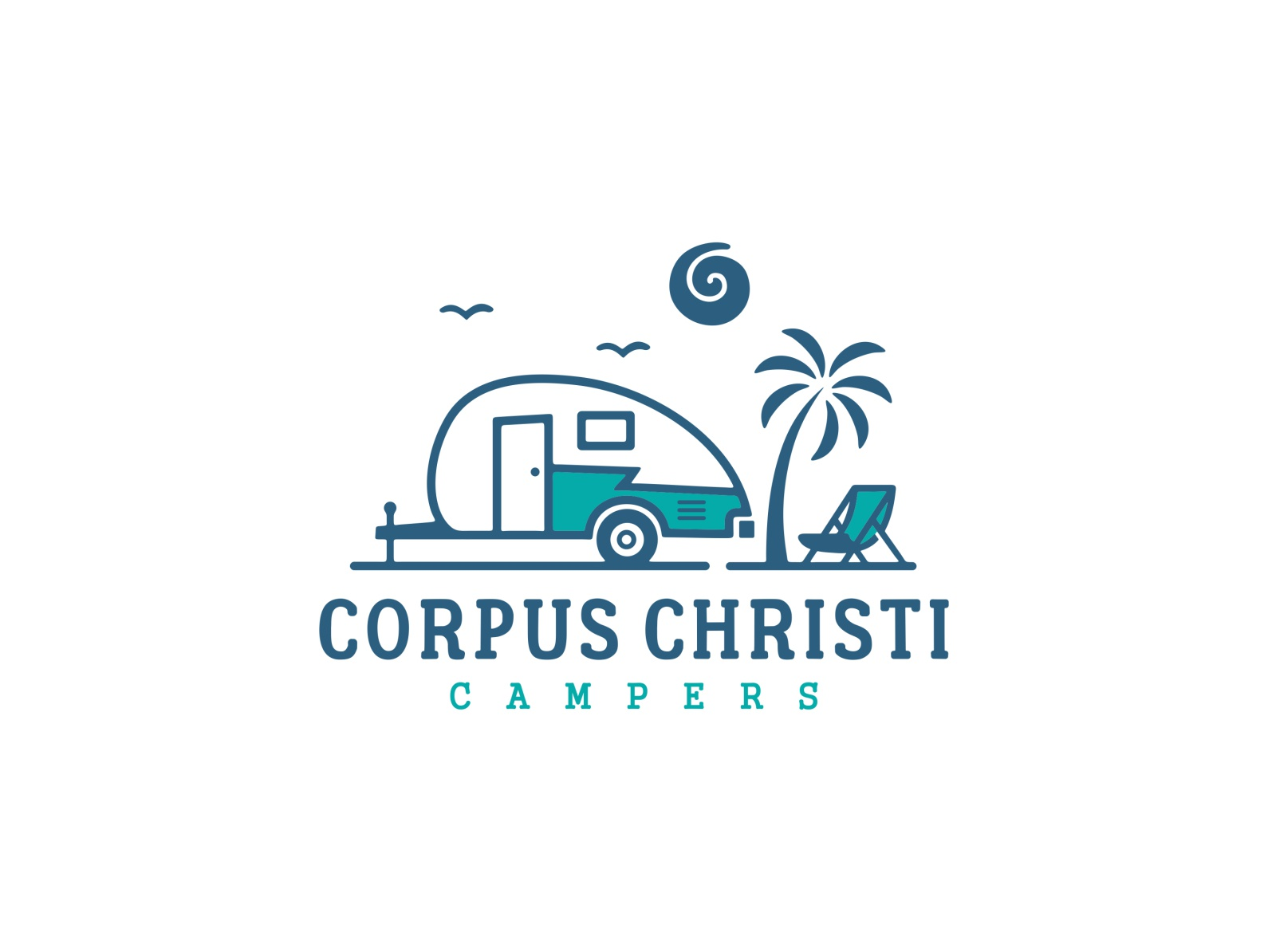 Corpus Christi Campers by humbl  on Dribbble