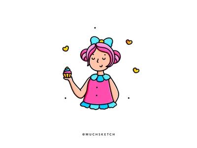 Cupcake girl 🧁💕