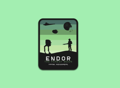Endor The Forest Moon badge