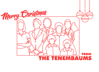 MERRY CHRISTMAS FROM THE TENENBAUMS - Dribbble Weekly Warm-up 14