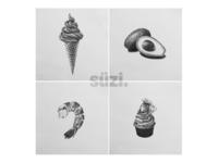 Illustration - Food lovers