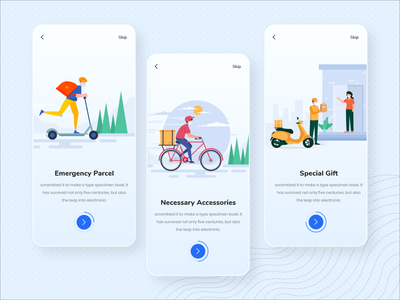 Parcel delivery app screen onboarding gift delivery gift delivery app ecommerce design ecommerce ecommerce app onboard onboarding ui onboarding screens onboarding app screen app parcel delivery parcel