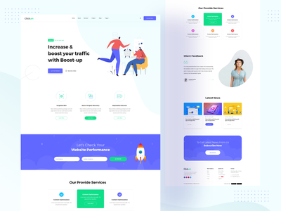 SEO/Digital Agency Landing Page bitcoin graphicdesign web design landing page search engine seo services creative boost minimal seo company seo agency seo webdesign ui dailyui landingpage