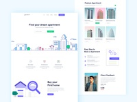 Property Sell Landing Page