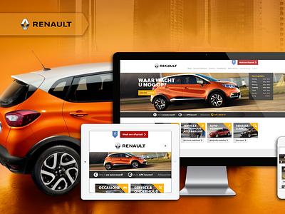 Renault Netherlands - Website Design And Development website development company website development website developer web development company web developer web designer web design website design website