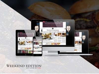 The Weekend Edition - News Website Development