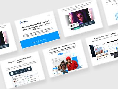 Storyteq - web ui business economic design