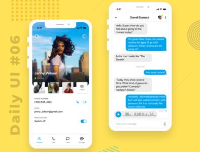 Daily UI  #06 app ux ui design
