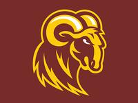 Huston Tillotson Mascot Logo